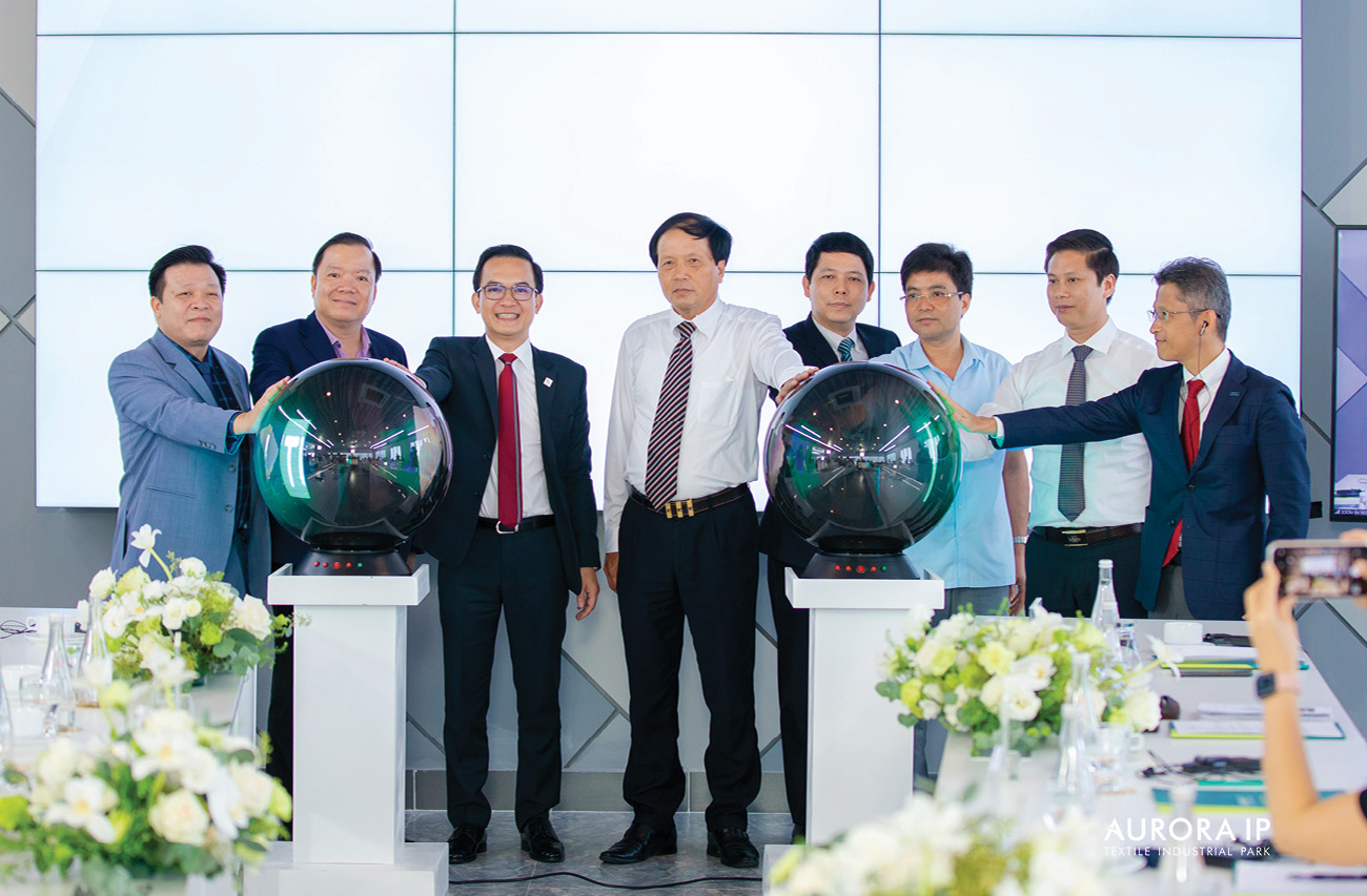 Cat Tuong Group held Land Lease Agreement Signing Ceremony  and Land Handover for Factory Construction at AURORA IP