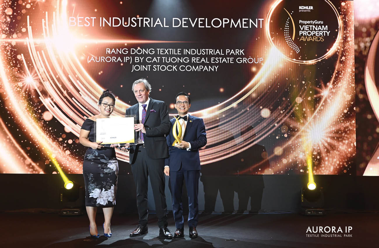 Aurora Textile Industrial Park - top-choice investment destination in Vietnam