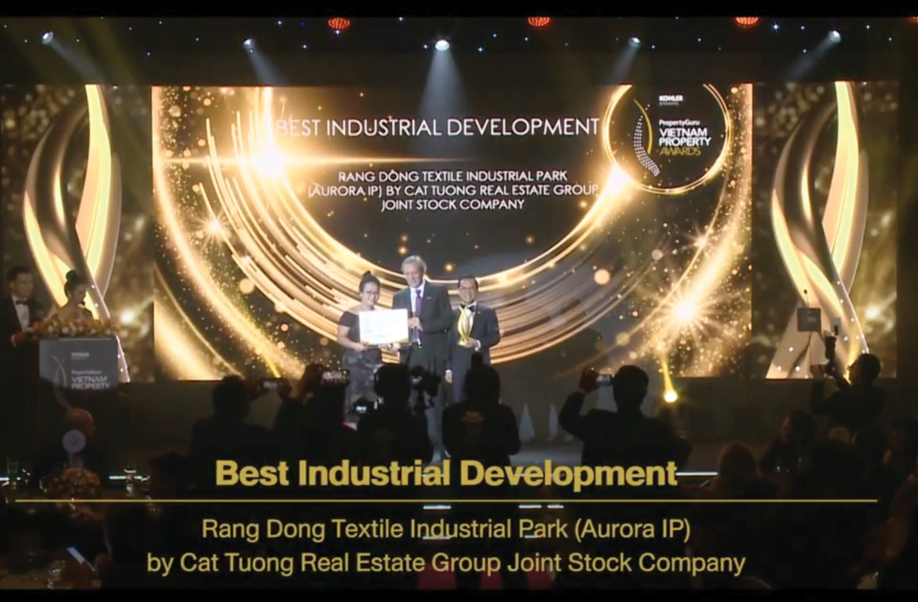 Aurora IP won the award 6th PropertyGuru Vietnam Property Awards 2020