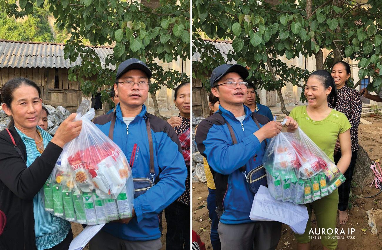 Aurora IP trao quà cho người dân Quảng Bình