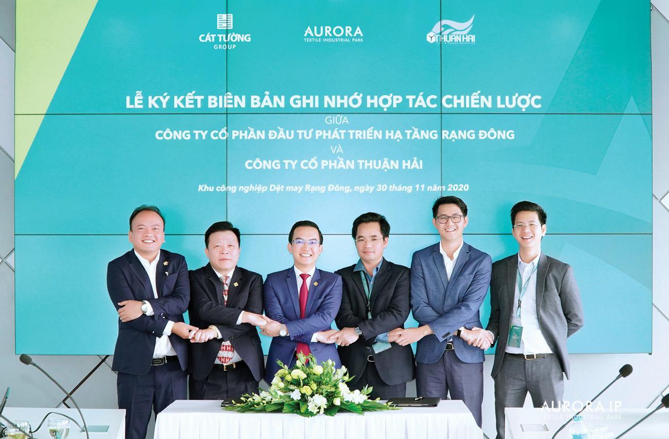 Cát Tường Group hợp tác Công ty Cổ phần Thuận Hải
