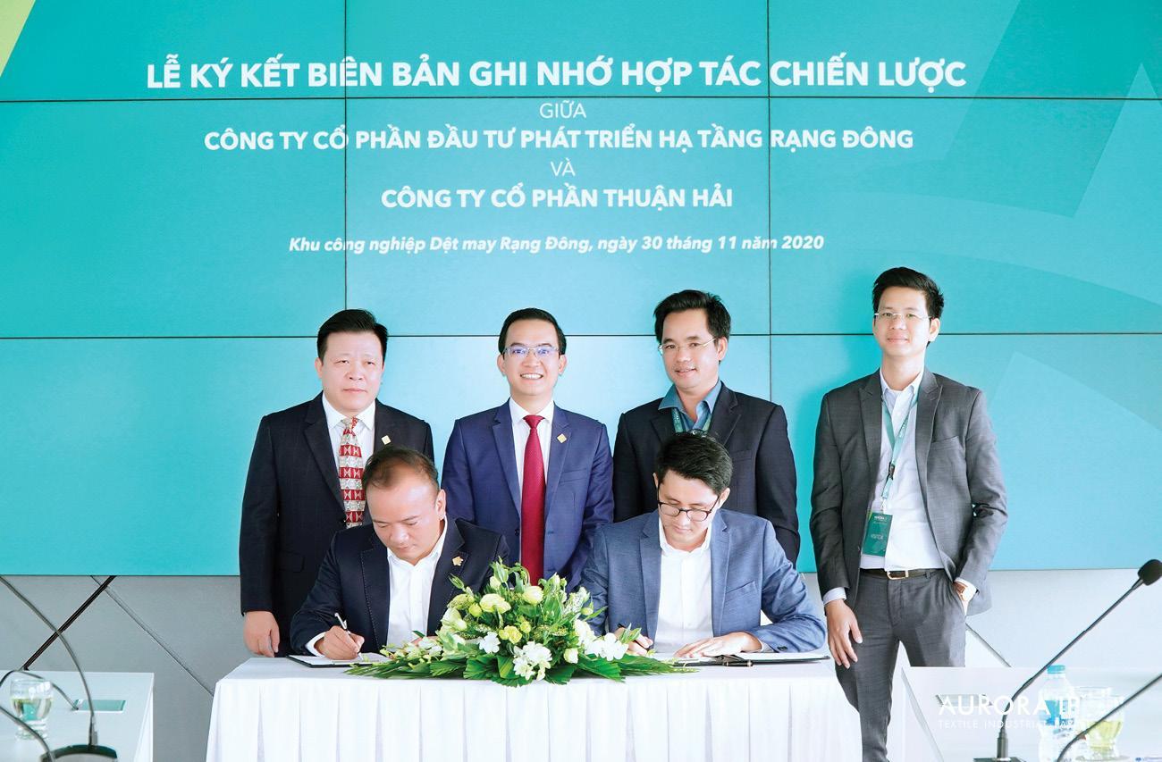Aurora IP ký biên bản ghi nhớ hợp tác chiến lược Thuận Hải Corporation