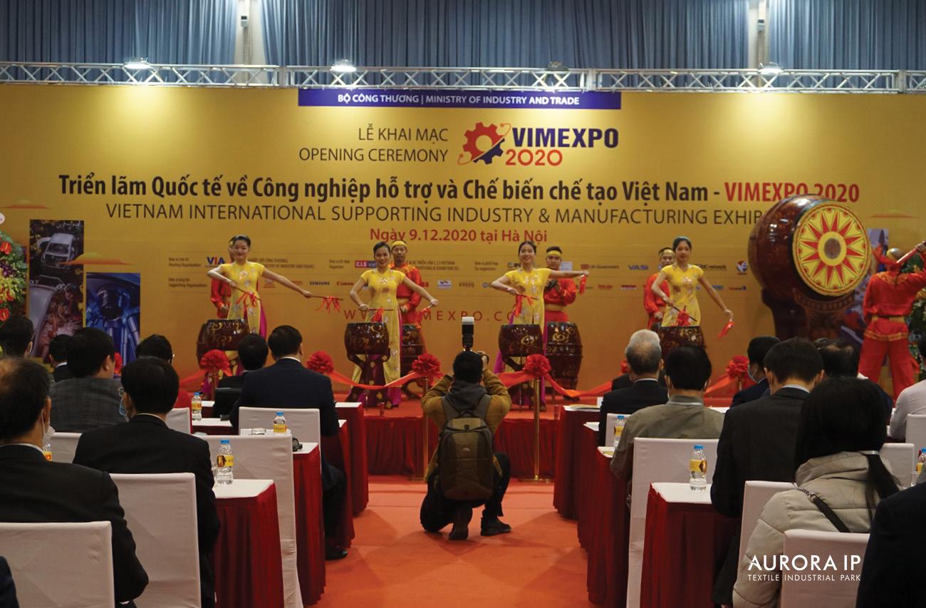Triển lãm quốc tế về Công nghiệp hỗ trợ và Chế biến chế tạo đầu tiên tại Việt Nam - VIMEXPO 2020