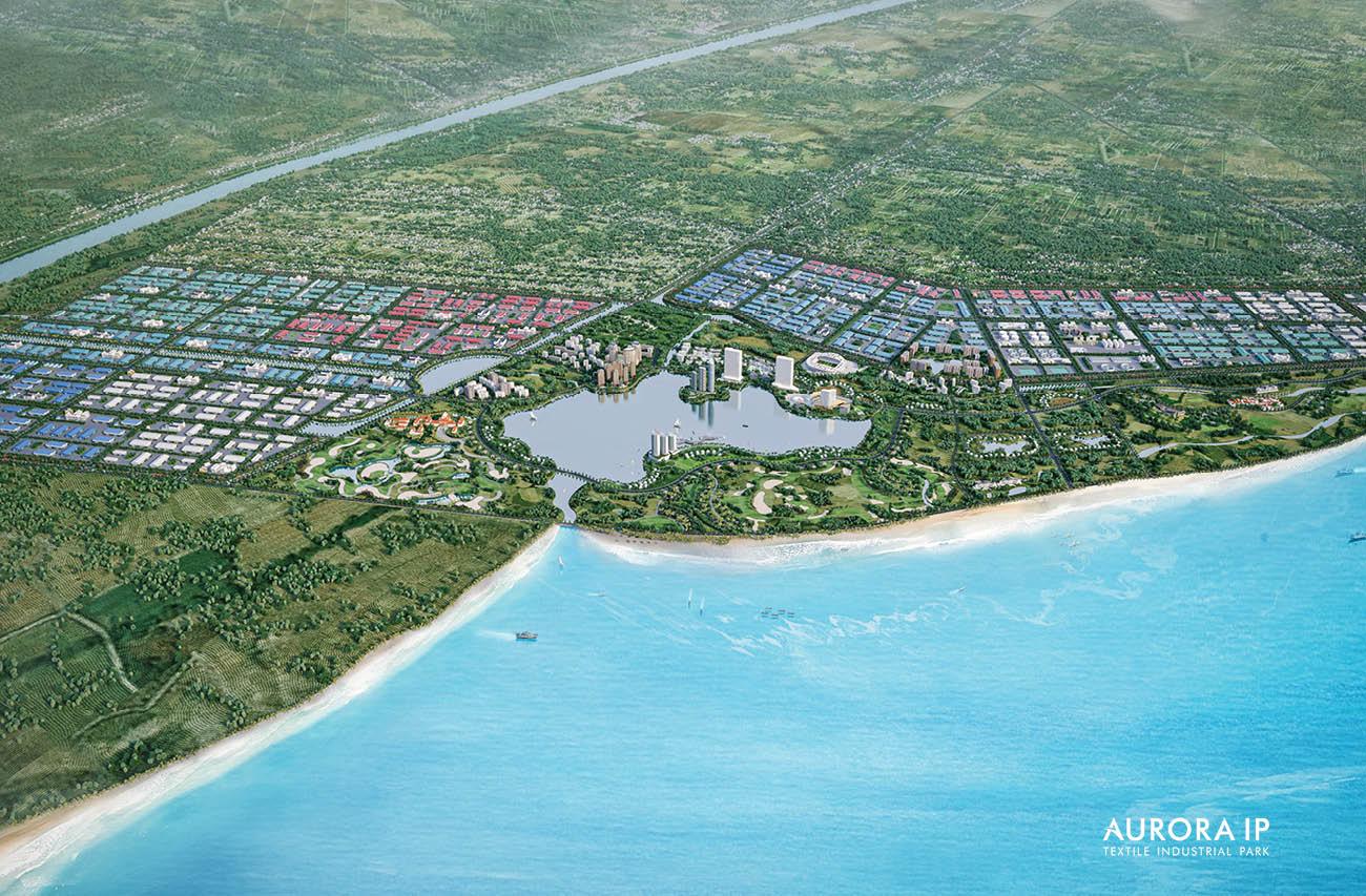 Khu Công Nghiệp Dệt May Rạng Đông tại Nam Định | Aurora IP