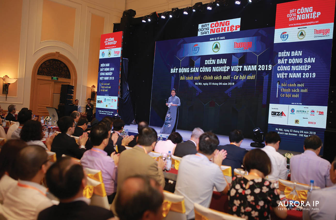 2019년도 베트남 공업 부동산 포럼 참석