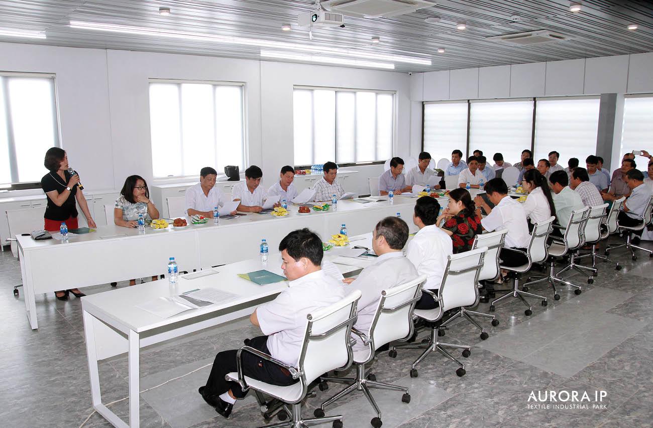 Đại diện Chủ đầu tư và đại biểu HĐND Nam Định