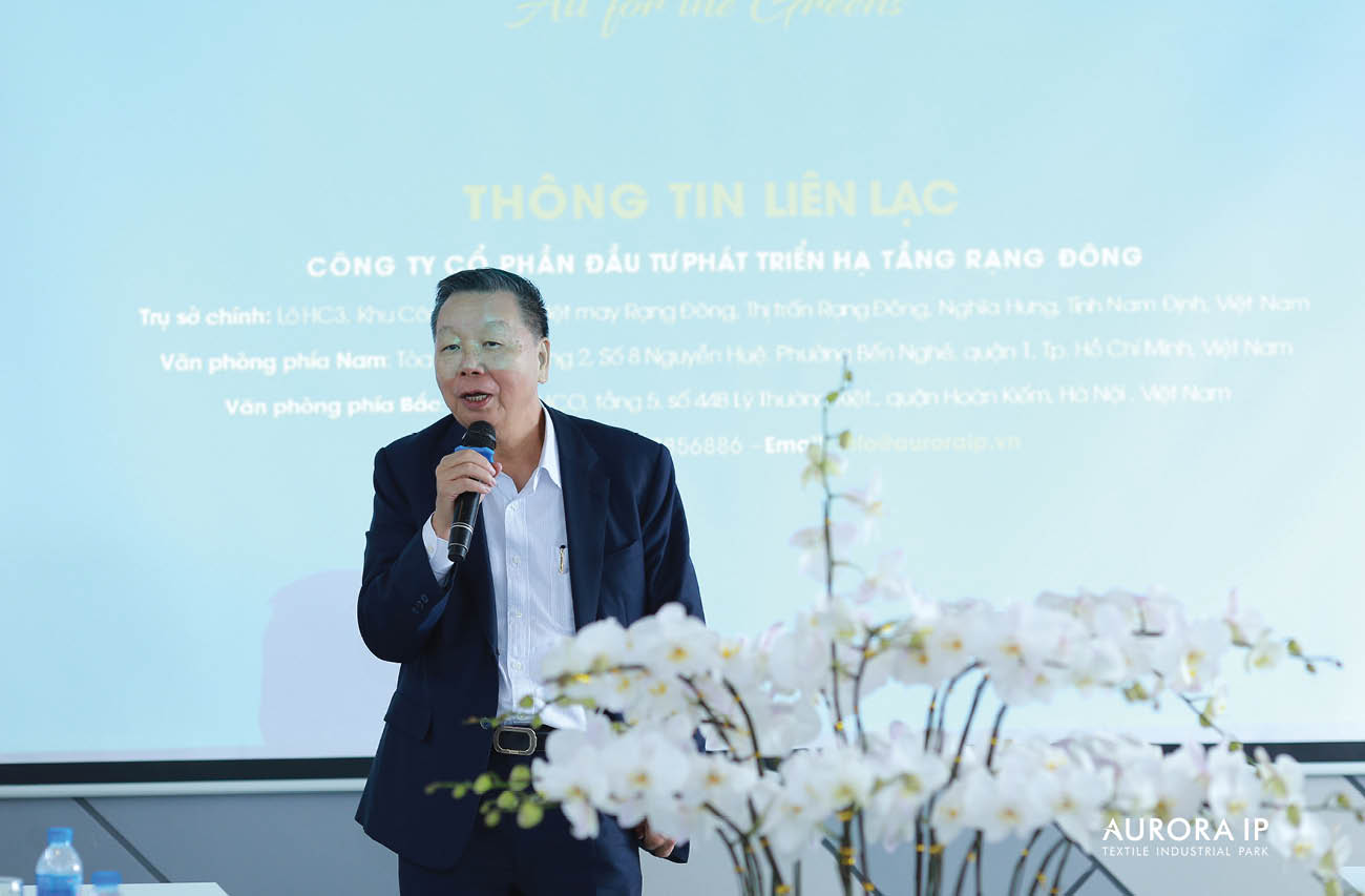 Chairman of the Taiwan Textile Federation addressed at the Conference