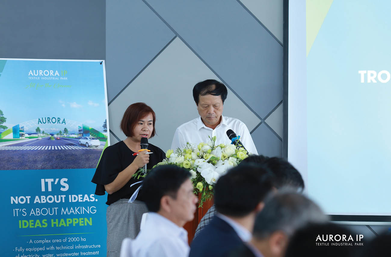 introduced the potential and strengths of Nam Dinh province