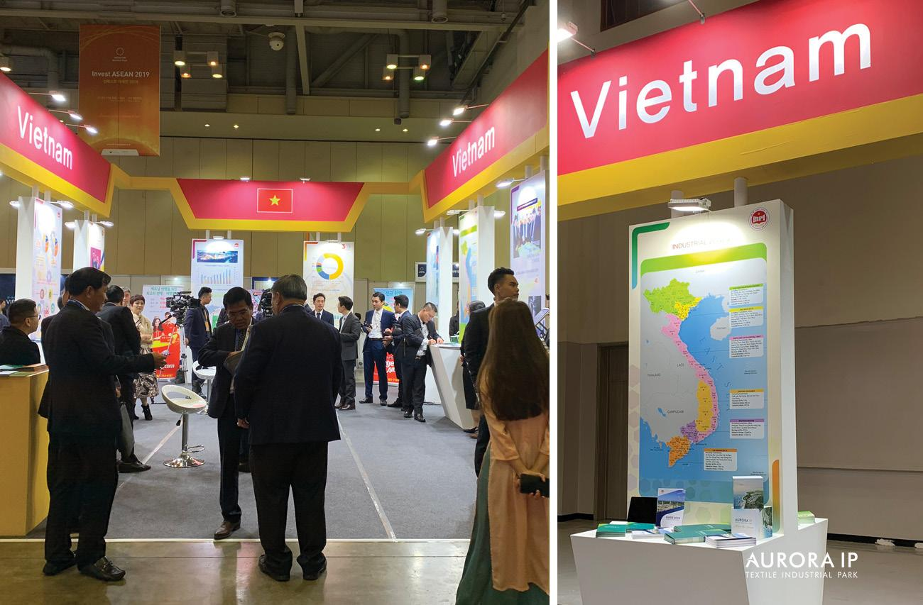 Vietnam national exhibition booth in Invest ASEAN 2019
