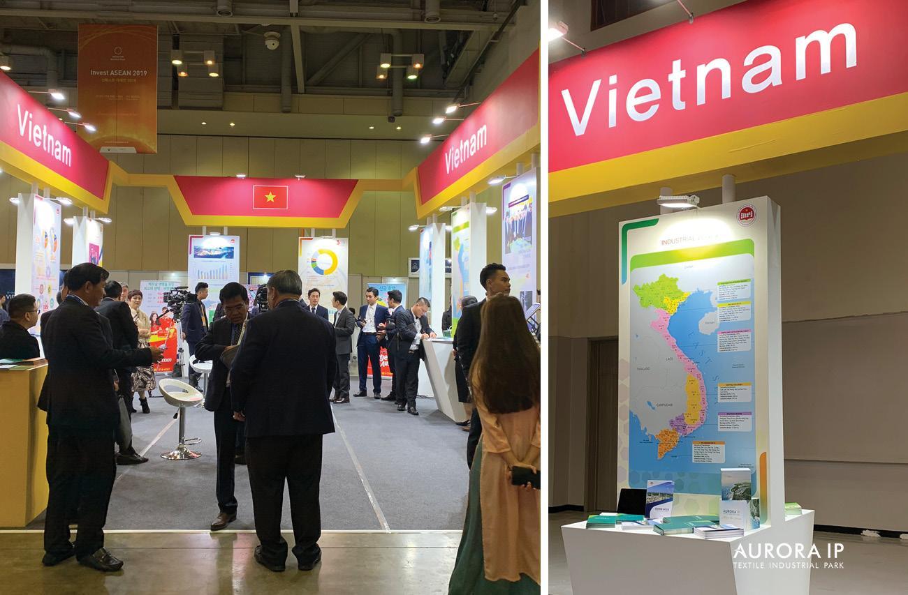 Gian hàng của Việt Nam tại Invest ASEAN 2019