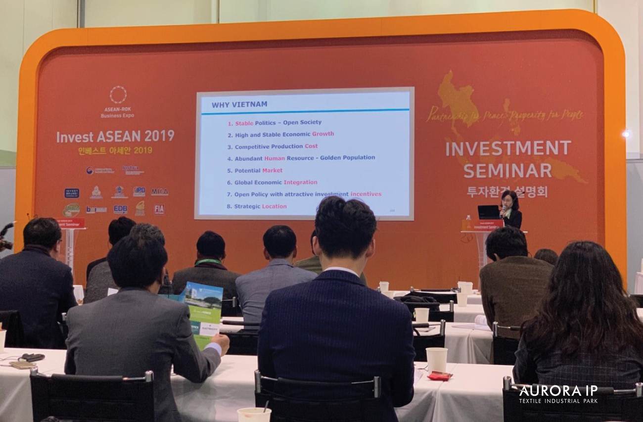 introduced about investment environment and investment stimulation in Vietnam