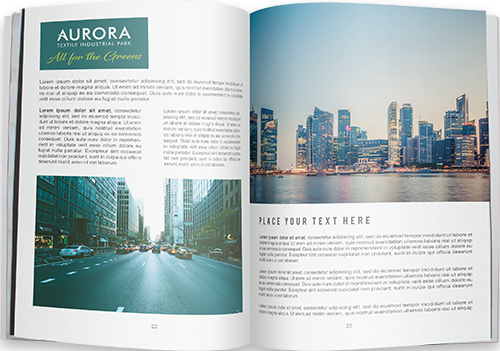 Brochure <br/>Aurora Textile Industrial Park