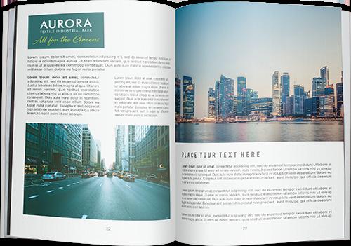 Brochure <br/>Aurora Textile Industrial Park