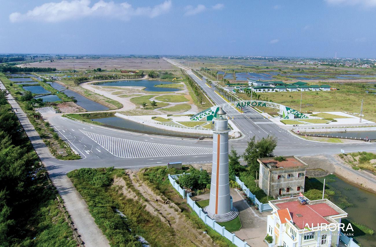 截至2019年10月28日 工业园区基础设施的真实照片