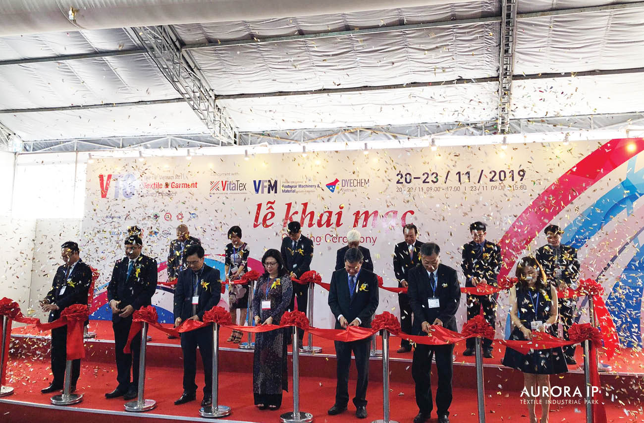 AURORA IP参加第19届工业机械设备,纺织及制衣的面料和服装辅料 国际博览会