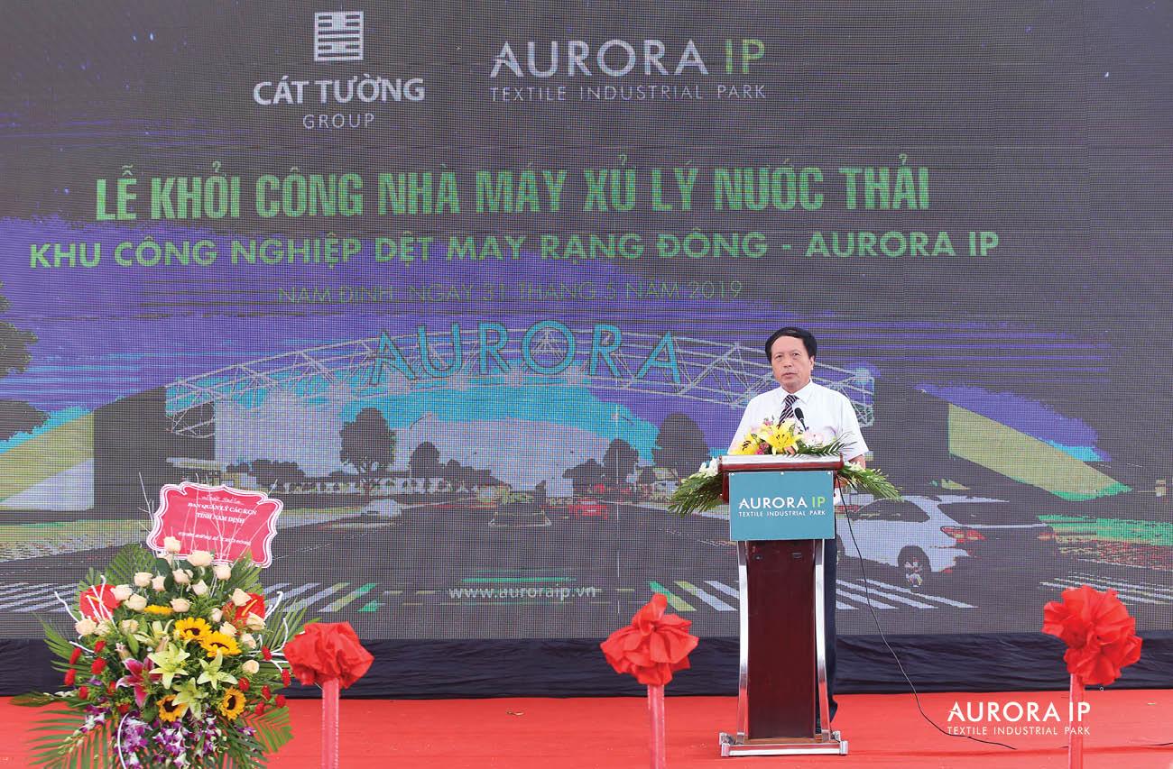 慶祝亮東 Rang Dong - Aurora IP 汙水處理廠開工典禮