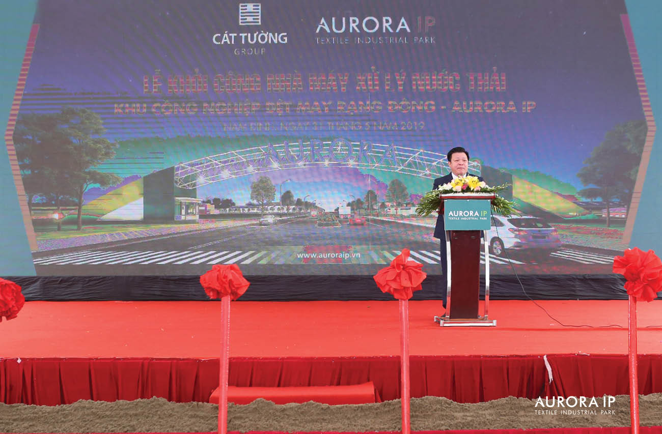 Phó Chủ Tịch HĐQT phát biểu| Aurora IP