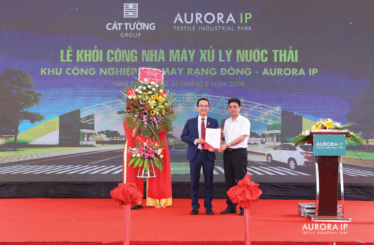 Head of Nam Dinh Industrial Park Management Board