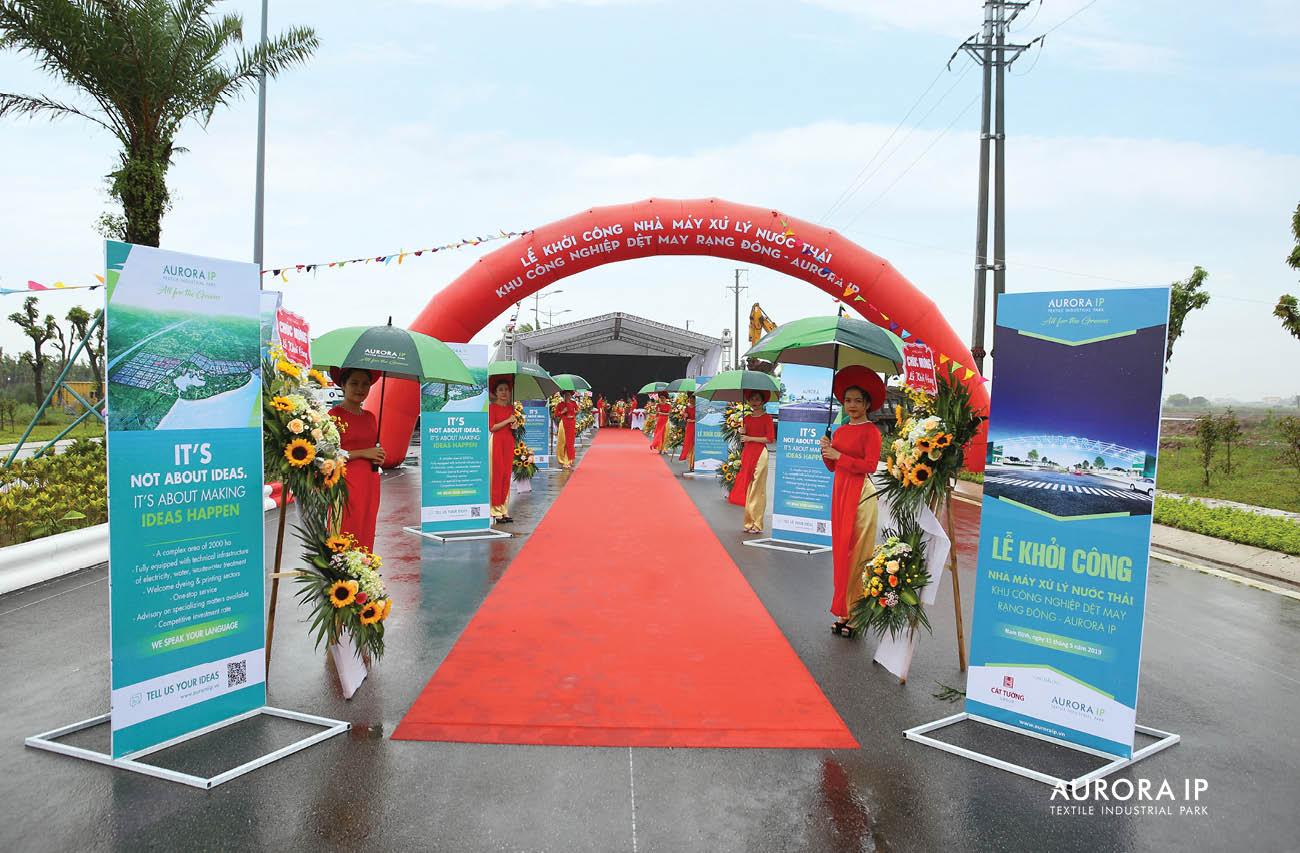 View of Groundbreaking ceremony | Aurora IP