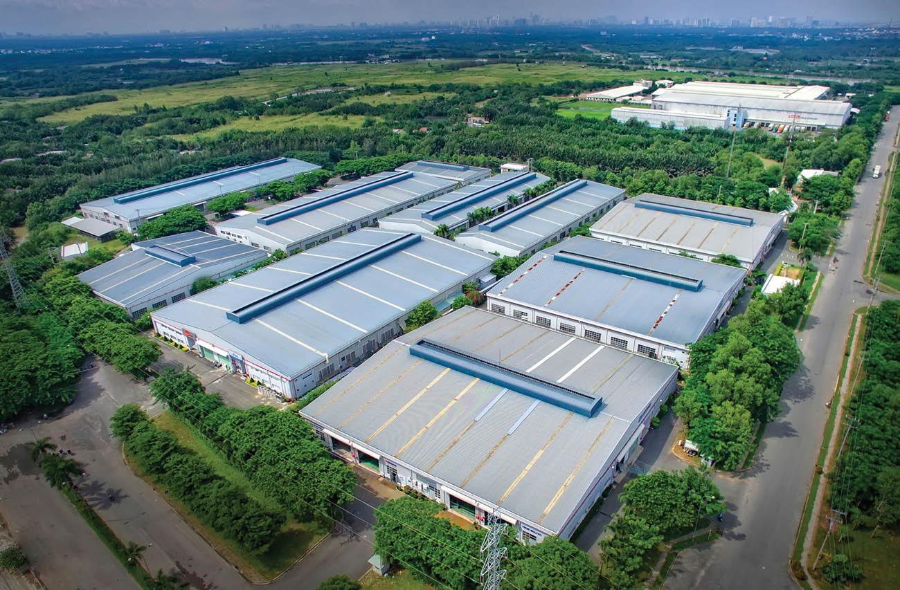 Bất động sản công nghiệp: Điểm sáng trong thu hút đầu tư