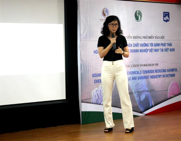 Phó Tổng thư ký Hiệp hội Dệt may Việt Nam
