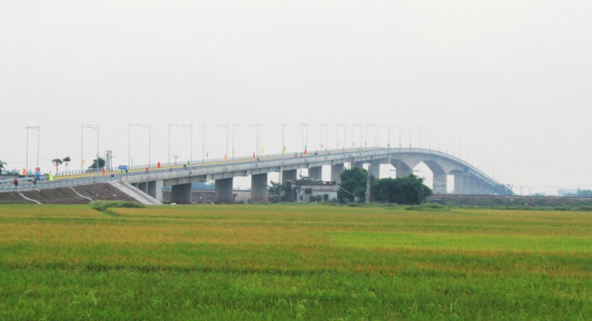 Thông xe cầu ven biển Nam Định