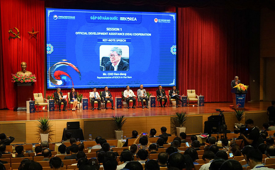 doanh nghiệp Hàn Quốc tham dự đối thoại