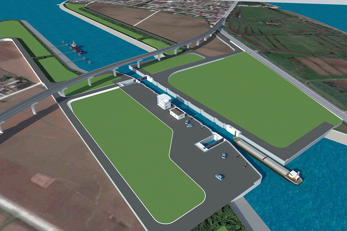 cụm công trình kênh nối Đáy - Ninh Cơ