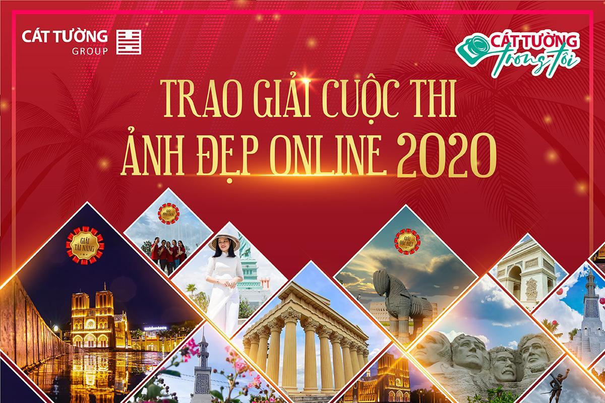Cát Tường Group trao giải cuộc thi ảnh đẹp Online 2020: