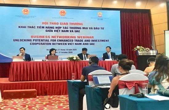 Doanh nghiệp UAE tìm cơ hội hợp tác nông, thủy sản và dệt may với Việt Nam