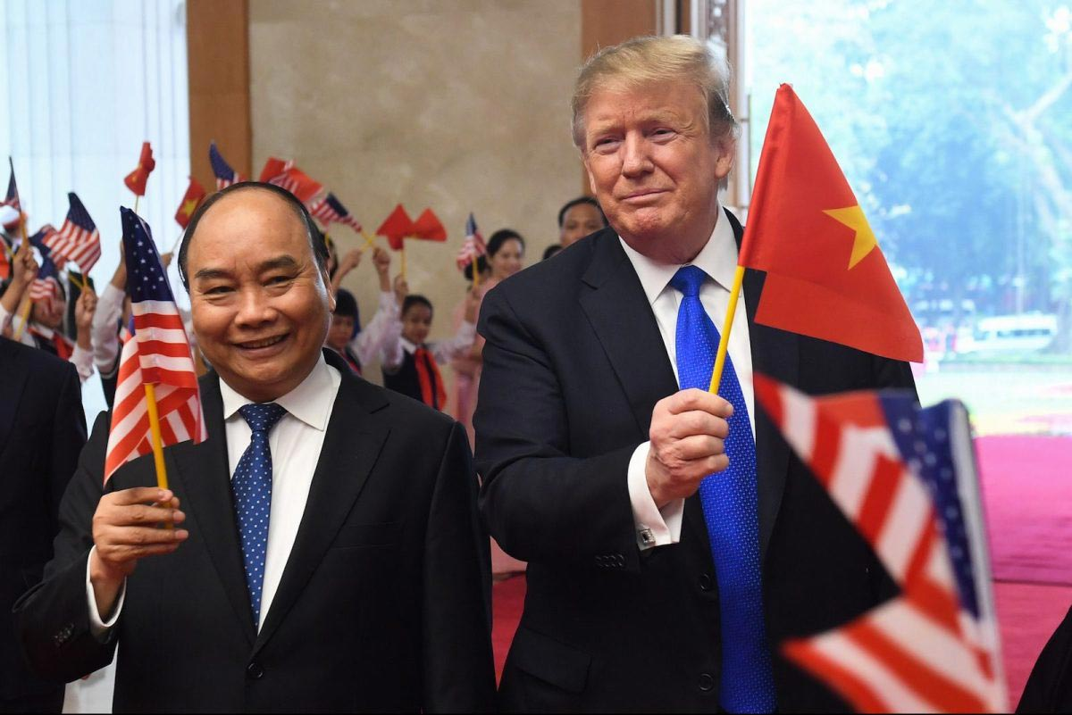 USA President and Vietnam Prime Minister