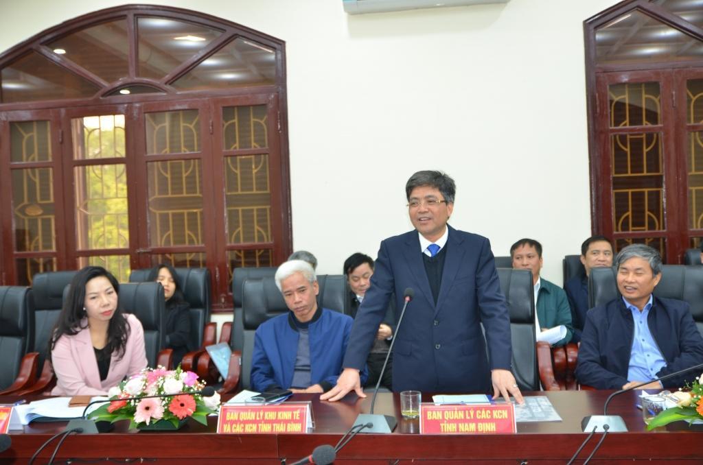 Ban Quản lý các KCN tỉnh Nam Định luôn đồng hành cùng các nhà đầu tư